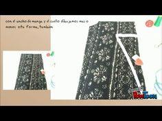 Como hacer un vestido basico en una hora - YouTube