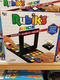 Rubiks race. Shake it, slide it, solve it.