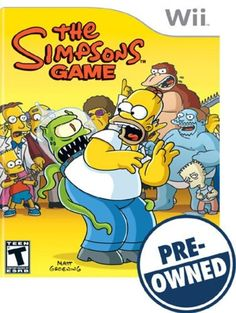The Simpsons Game — PRE-Owned - Nintendo Wii