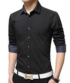 MLG Men Long Sleeve Casual Button Down V-Neck Cardigan Sweater Khaki L