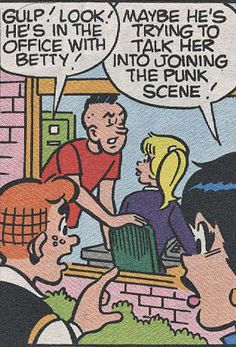Archie comics, I'm kinda obsessed and this is especially awesome.