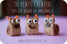 20 plats creatius per fer volar la imaginació