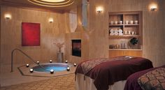 The AC spa: Spa Toccare offers natural treatments in serene surroundings.