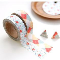 "Pack de 2 washi tape Iconic ""Flower"""
