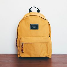 cool yellow backpack