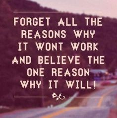 HFC Daily Affirmation - I will continue to focus on the reasons why this will work!