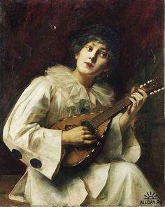 Работы художника Paul de la Boulaye (1849-1926)