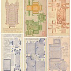 Legal Size Paper, Paper Furniture, 1920s Art Deco, All Paper, Digital Form, Dollhouse Furniture, Printables, Antiques, Handmade