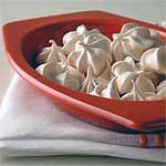 Double Vanilla Meringues Recipe | MyRecipes.com