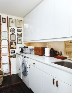 High-Low Laundry Room