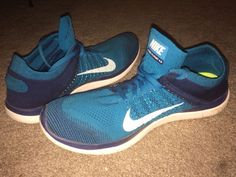 Nike Air Zoom Pegasus 34 Track & Field Shoes in Blue for Men