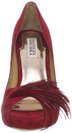 Amazon.com: Badgley Mischka Women's Ginnie Peep-Toe Pump: Badgley Mischka: Shoes