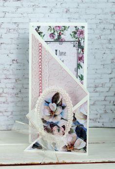 Couture Creations: Magnolia Lane Tri Fold Card by Sue Smyth