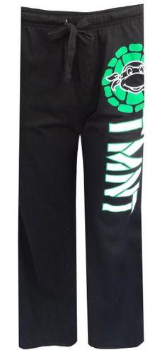 Teenage Mutant Ninja Turtles Black Lounge Pants