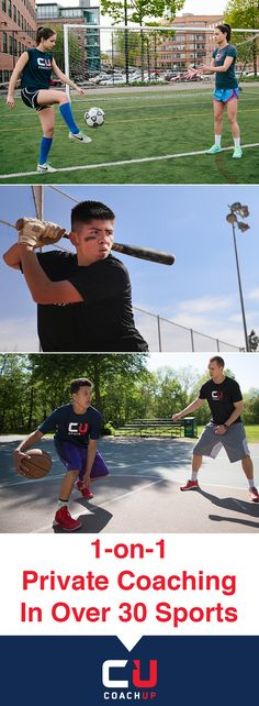 Teaching the rules of the game is just part of what our coaches can do. Choose from a community of vetted professionals who can train, motivate, and inspire.   https://www.coachup.com/?utm_source=Pinterest&utm_medium=1.8P