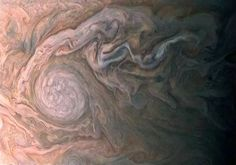 Detail image from Juno spacecraft 9000 miles above JUPITER by  NASA/PL - Caltech/SwRI/MSSS/Roman Tkachenko @EarthSky.org