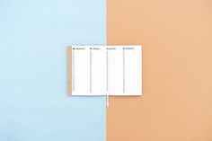 2016 planners on Behance