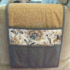 Armchair Caddy Bedside Caddy Remote holder by MiniMade on Etsy, $22.50