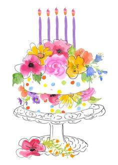 Find the desired and make your own gallery using pin. Birthday clipart watercolor - pin to your gallery. Explore what was found for the birthday clipart watercolor