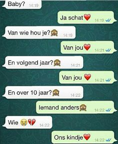 De beste en meest romantische WhatsApp Gesprekken