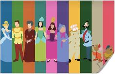 Disney Cinderella Poster on Wanelo