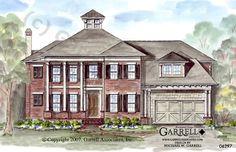LOVE.  Change exterior. Southcrest - House Plan # 06297 | Craftsman House Plans