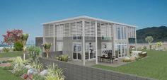 Pauanui 4 bedroom house design Landmark Homes builders NZ