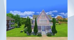 Check out this lot in The Sims 4 Gallery! Sims 4 Houses, Sims 4 Game, Family Garden, My Sims, Attic, Building A House, Traditional, Mansions, House Styles