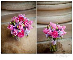 Pinks & Lilac posy