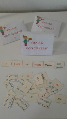 Alexandra nous propose 3 activités pour travailler autour de Gustar avec des 5e. Tout d'abord elle nous propose des flashcards avec les pers...