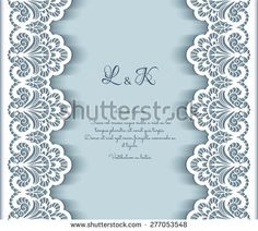 Elegant vector background with cutout paper lace borders, greeting card or wedding invitation template, Paper Lace, Paper Flowers, Wedding Invitation Templates, Wedding Invitations, Black And Silver Wallpaper, Lace Border, Flower Frame, Vector Background, Paper Cutting