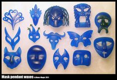 A bunch of masks 2 by Dans-Magic.deviantart.com on @DeviantArt