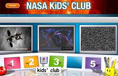 NASA Kid's Club is a wonderful science and space website for children.