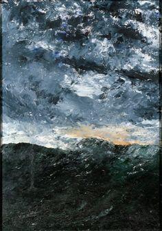 """August Strindberg's landscapes: """"Vågen VIII,"""" 1901."""