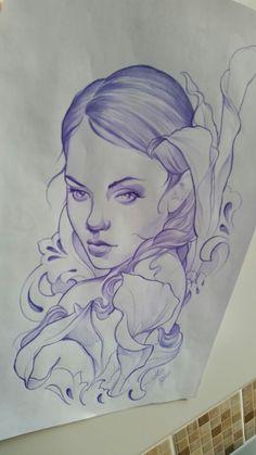 Mujer ornamental