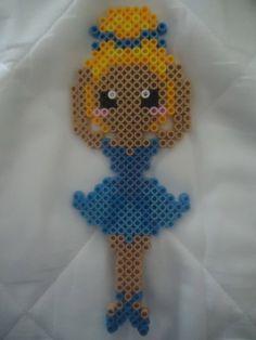 Ballerina perler beads by *PerlerHime on deviantART