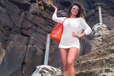 Cheia de estilo, Paula Fernandes explora Fernando de Noronha - Reprodução