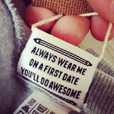 Funny labels on clothes are a great way for a quick laugh : theCHIVE