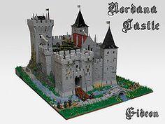 Nordana Castle (Gideon_83) Tags: castle lego avalonia swebrick guildsofhistorica vision:outdoor=0975