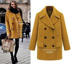 Find More Information about Free shipping 2014 new women's autumn winter Plus size elegant medium long double breasted wool overcoat wool coat outerwear,High Quality coated wallpaper,China coates online Suppliers, Cheap overcoat pattern from kwbetter shopping mall on Aliexpress.com