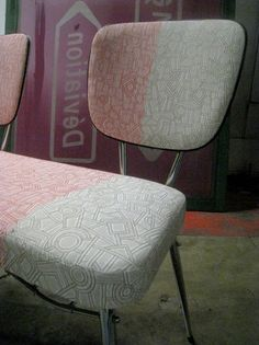Designed by Anouchka Potdevin upholstery made by Mickaël Laurent Tapissier.