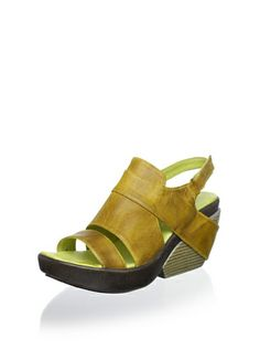 51% OFF Antelope Women\'s Slingback Casual Wedge (Lime)
