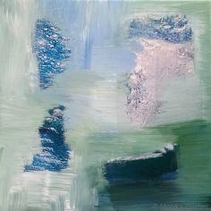 Die Elemente - Wasser III   -   Acryl auf Leinwand   -   20 x 20 cm