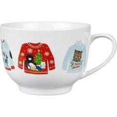 Ugly Sweater Cafe Mug