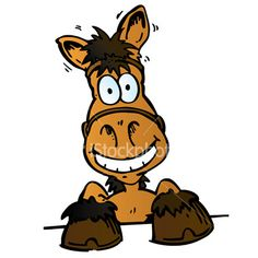 Cartoon Horse Head | lol-