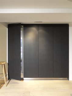Hidden refrigerator wall by bulthaup Milan www.bulthaupsf.com Where Passion, Sensuality and Architecture Meet #LiveYourDreams
