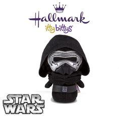Hallmark ITTY BITTYS ●● Star Wars KYLO REN ●● Itty Bitty Limited Edition!
