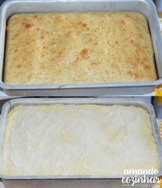 Bolo mousse de leite ninho - Amando Cozinhar: Receitas Fáceis e rápidas