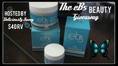 Blogger Opp ~ The eB5 Beauty Giveaway #eb5facialcream