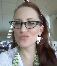 Christine G, TX.. Wearing Courtland Shayla #CatsEye Glasses from #Eyeglassboy